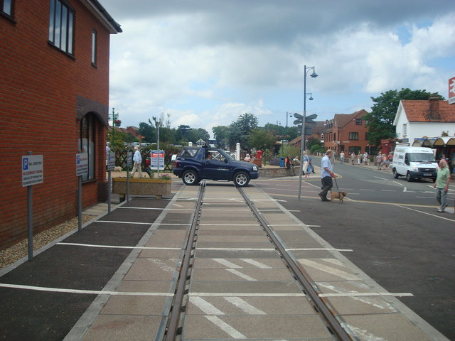 Sheringham level crossing