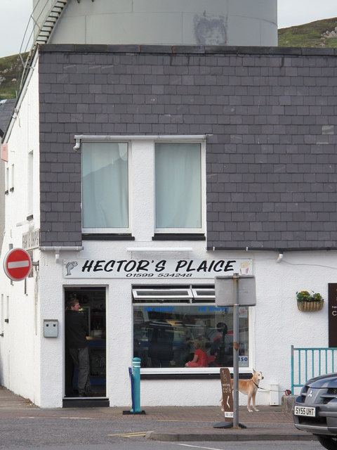 Fish and chip shop, Kyle of Lochalsh