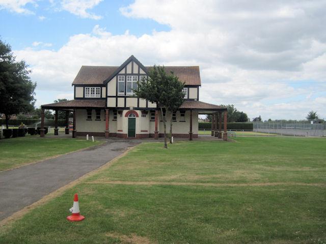 Pavilion on Recreation ground