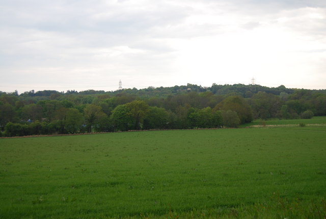 View south from the Sussex Ouse Valley Way