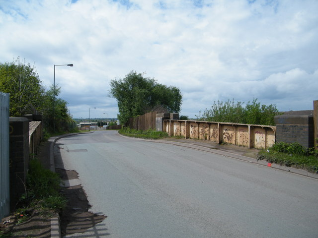 Bridge over Midland Railway trackbed