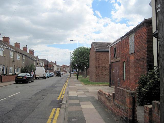 Oxford Street looking towards Park street