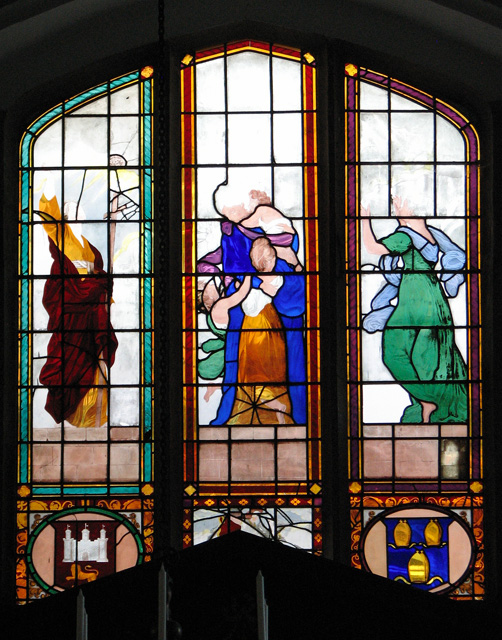 St George Colegate, Norwich - east window