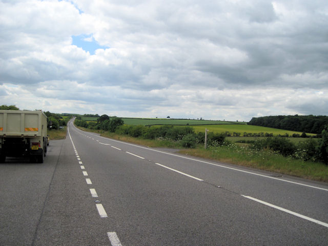 A46 looking towards Swallow