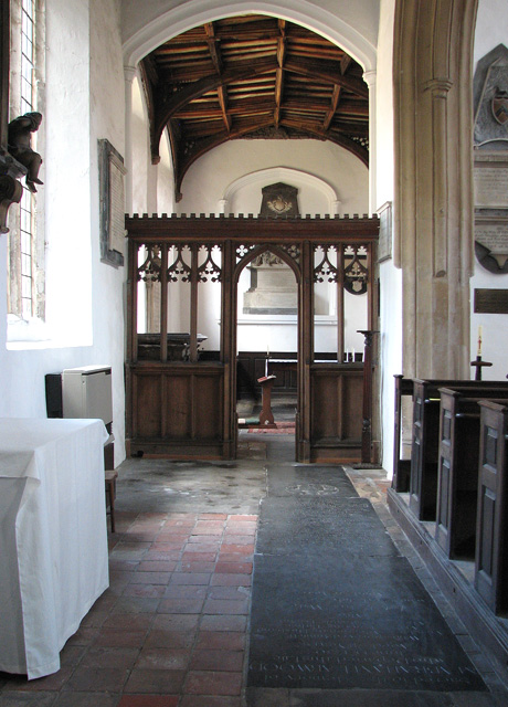 St George Colegate, Norwich - north aisle and chapel