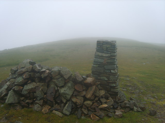 Trig Pillar Clough Head