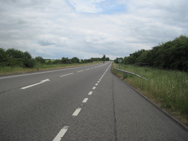 A46 looking East towards Irby