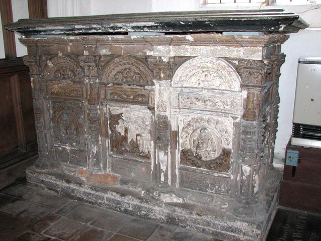 St George Colegate, Norwich - C16 terracotta tomb