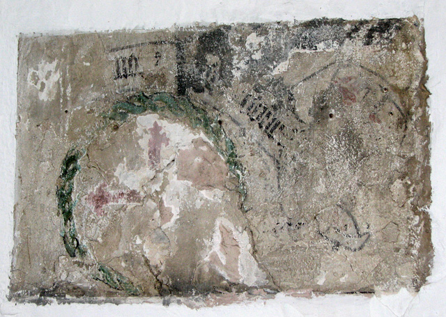 St George Colegate, Norwich - remains of wall painting