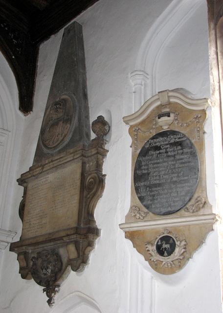 St George Colegate, Norwich - memorials