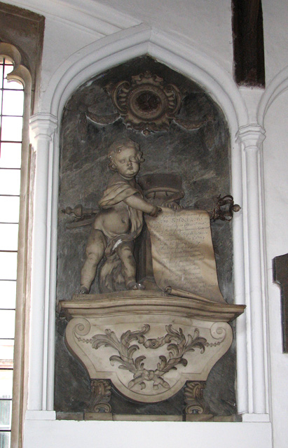 St George Colegate, Norwich - memorial