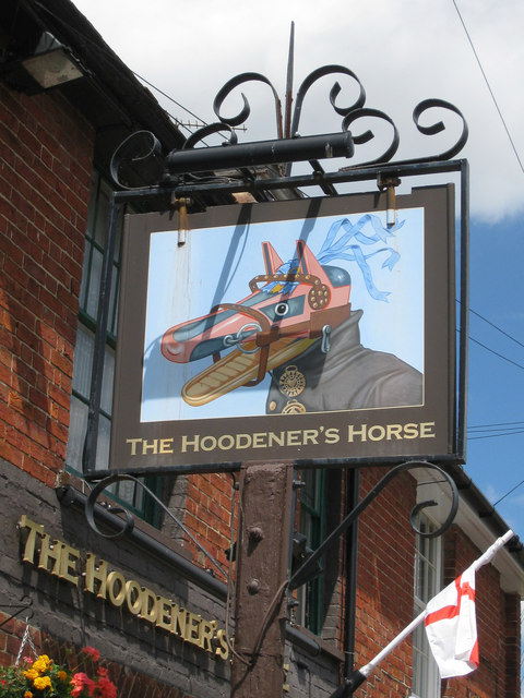 The Hoodener's Horse sign
