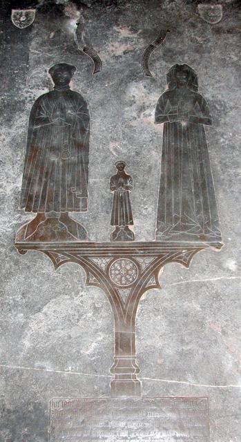 St George Colegate, Norwich - memorial