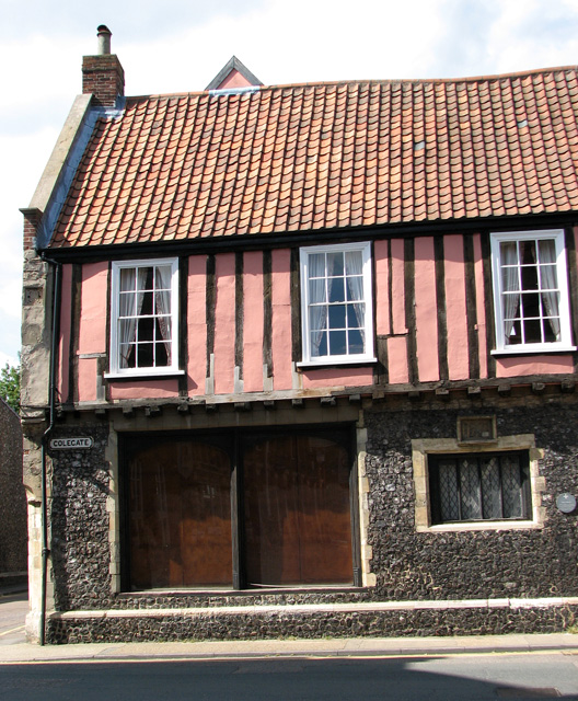 Henry Bacon's house in Colegate, Norwich