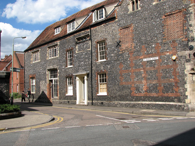 Junction of Colgate and St George Street, Norwich