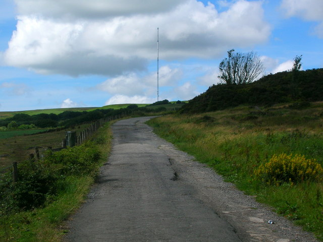 The way to Winter Hill