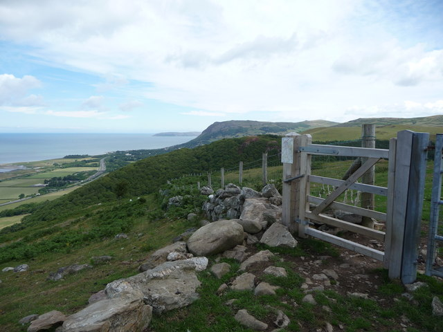 Gate on the North Wales Path