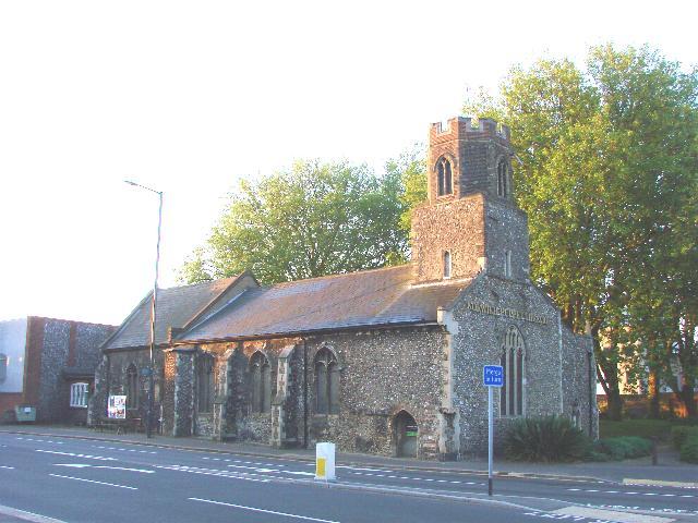 Pockthorpe St James' church, Norwich