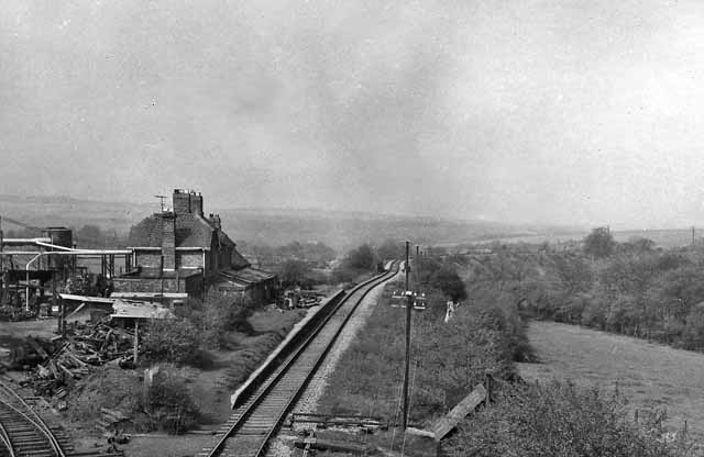 Byers Green Station (remains)