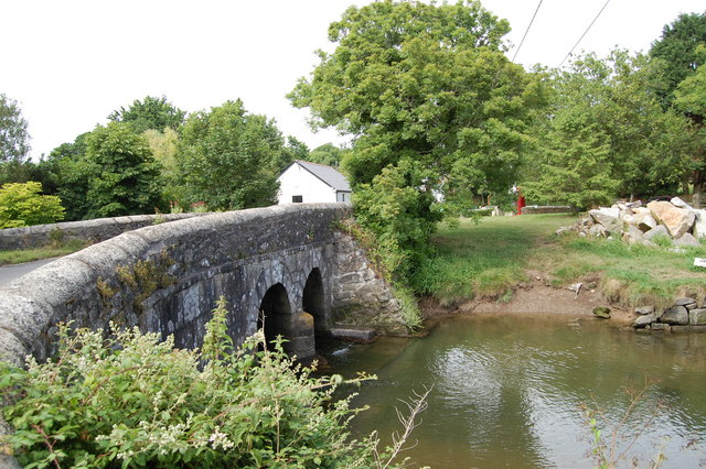 Bridge over the creek at Gweek