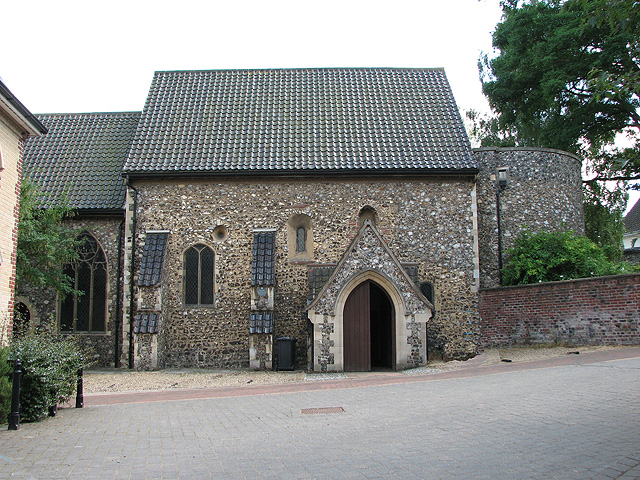 St Julian's church in Norwich