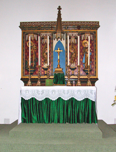 St Julian's church in Norwich - altar and reredos