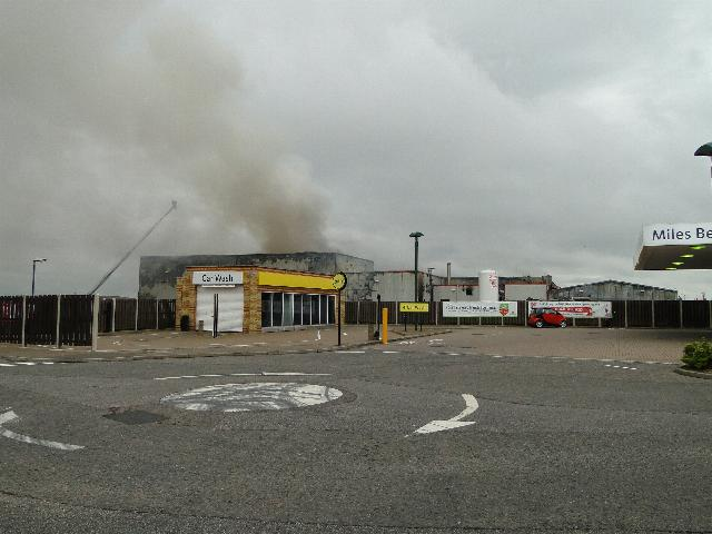 Fire at Food Processing Factory