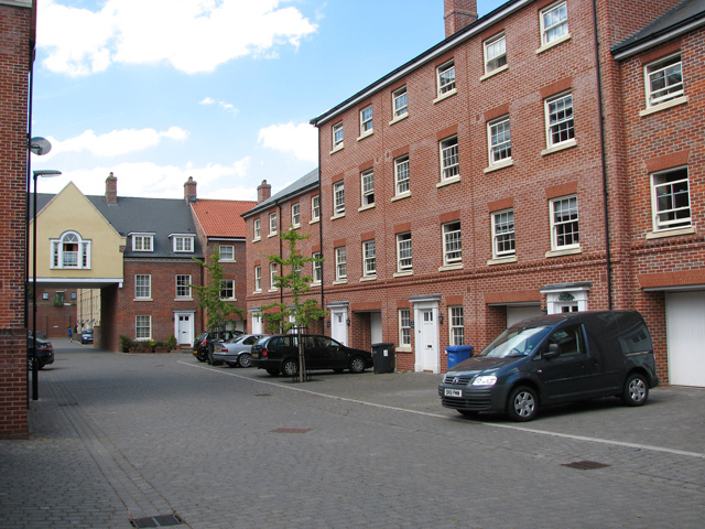 New housing between King Street and Rouen Street, Norwich
