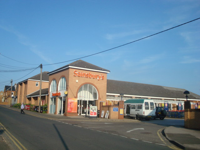 Sainsbury's supermarket, Hunstanton