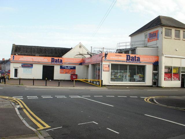 Former Data premises, Barnardtown, Newport