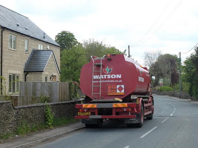 2010 : B4039 at Burton