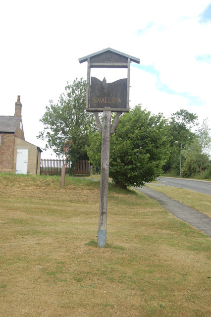 Swallow Village sign