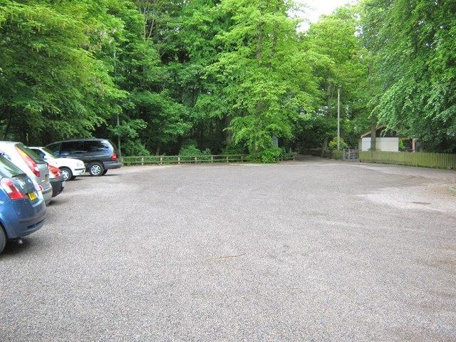 Car park next to the Arts Centre