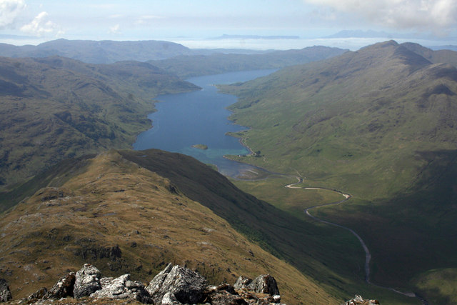From Sgurr na Ciche SW