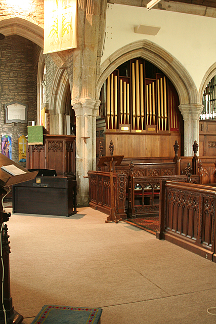Buckland Monachorum: St Andrew's church