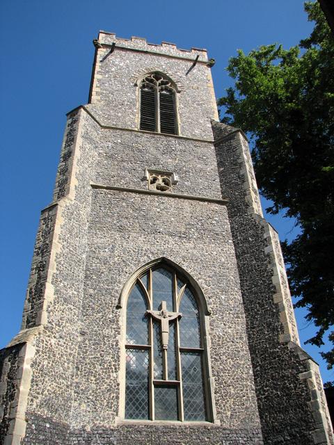 St Margaret de Westwick, Norwich - tower