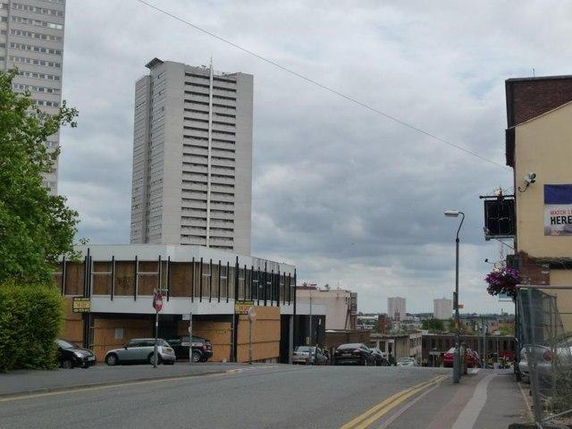 No longer the city centre