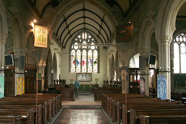 Buckland Monachorum: St Andrew's church 2
