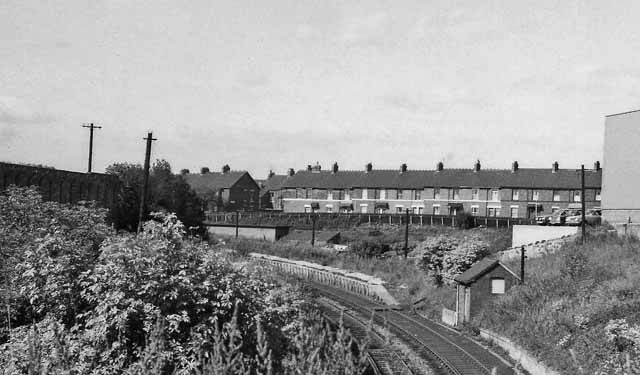 Byker Station (remains)