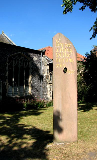 St Margaret de Westwick, Norwich - churchyard