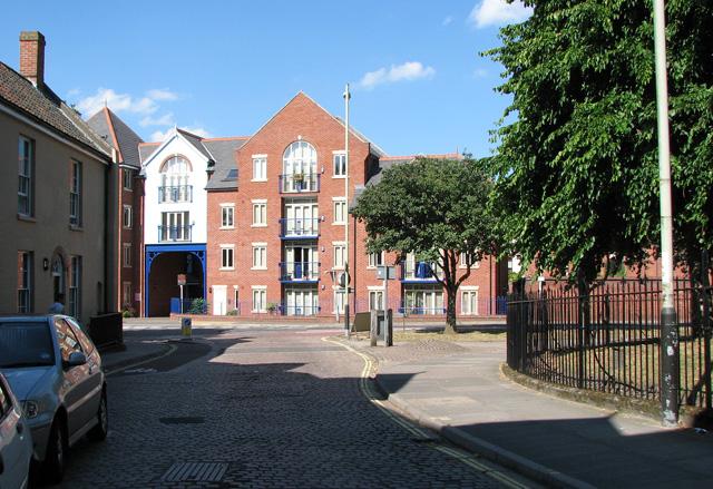 Flats in Westwick Street, Norwich