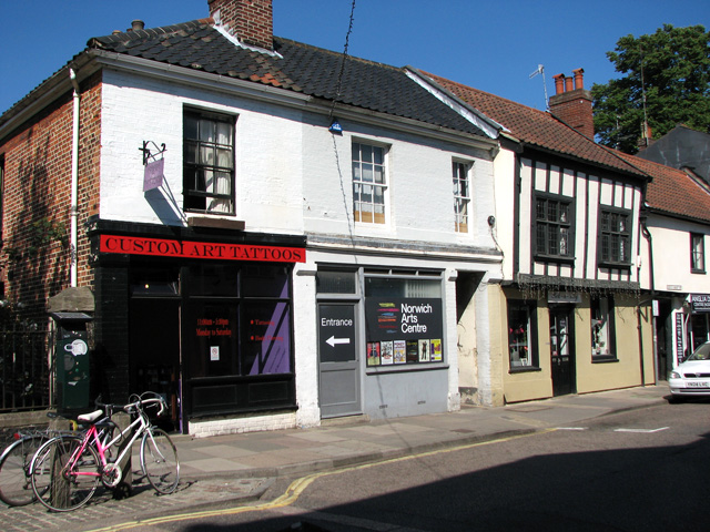 Shops in St Benedicts Street, Norwich