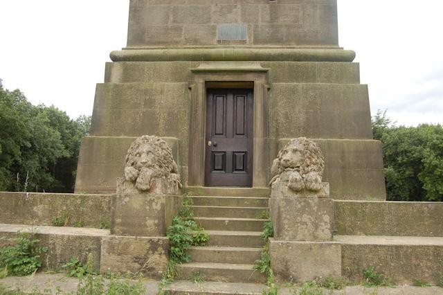 Pelhams Pillar entrance
