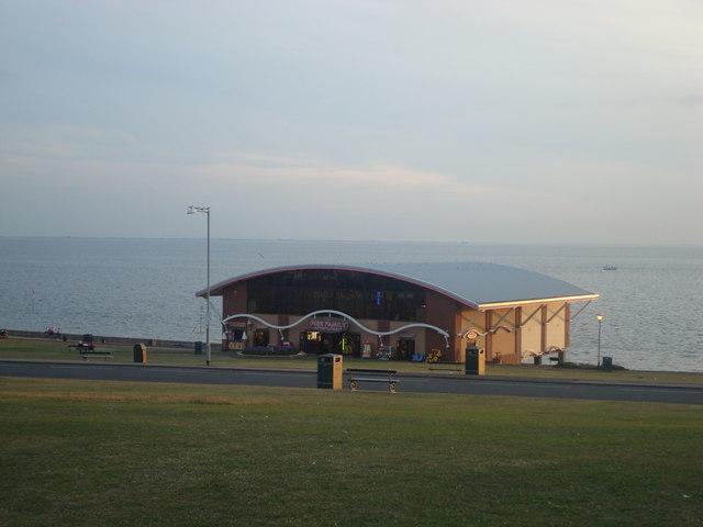 Pier amusement arcade, Hunstanton