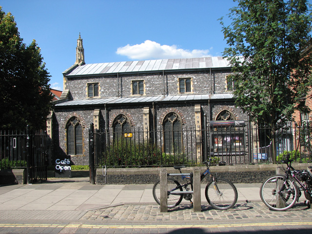 St Swithin's church in St Benedicts Street, Norwich