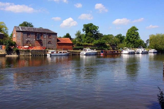 The Thames at Wallingford