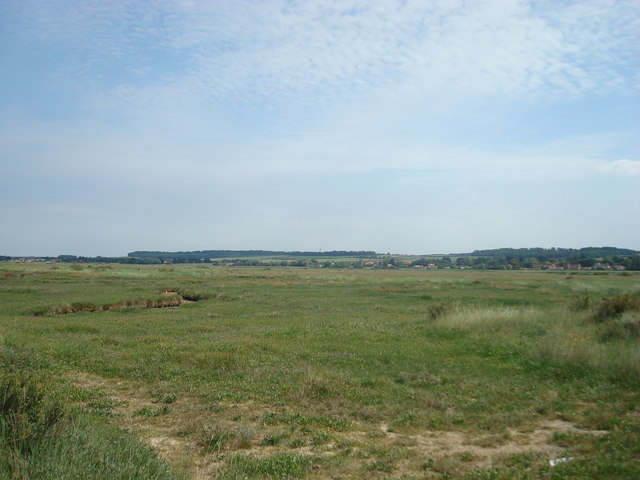The marsh at Brancaster