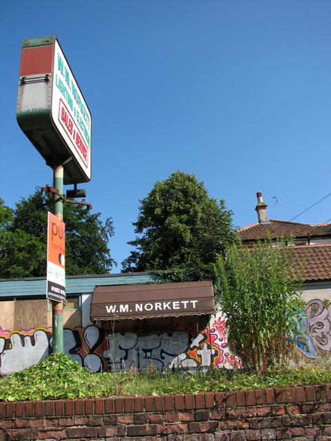WM Norkett in Unthank Road, Norwich