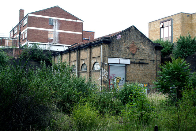 Old railway building, Drayton Park