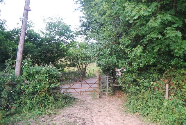 Kissing gate, Wickhurst Rd